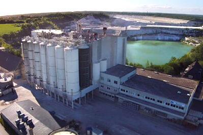 Luftaufnahme von Laegerdorf